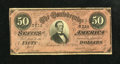 Confederate Notes:1864 Issues, T66 $50 1864.. . ...