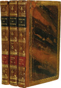 Books:Non-American Editions, Adam Smith: 1805 Three-Volume Set of An Inquiry Into the Natureand Causes of the Wealth of Nations. (Glasgow: The Unive...(Total: 3 Item)