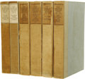 Books:Signed Editions, Rudyard Kipling: Signed Collection of Books from the Bombay Editionof The Works of Rudyard Kipling. (London: Macmillan ...(Total: 6 Item)