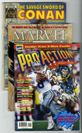 Magazines:Miscellaneous, Miscellaneous Comic Book Themed Magazines Group (Various, 1985-98)Condition: Average VF.... (Total: 33 Comic Books)