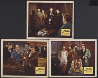 "And Then There Were None (20th Century Fox, 1945). Lobby Cards (3) (11"" X 14""). Mystery. Starring Barry Fitzge..."