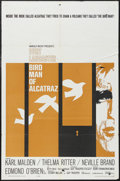 "Movie Posters:Drama, Birdman of Alcatraz (United Artists, 1962). One Sheet (27"" X 41"").Drama. Starring Burt Lancaster, Karl Malden, Thelma Ritte..."