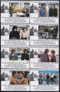 "The Breakfast Club (Universal, 1985). British Lobby Card Set of 8 (11"" X 14""). Drama. Starring Emilio Estevez..."