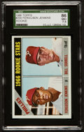 Baseball Cards:Singles (1960-1969), 1966 Topps Fergie Jenkins Rookie #254 SGC 86 NM+ 7.5....