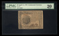 Colonial Notes:Continental Congress Issues, Continental Currency April 11, 1778 $7 PMG Very Fine 20.. ...