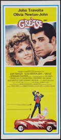 "Movie Posters:Musical, Grease (Paramount, 1978). Australian Daybill (13"" X 30""). Musical.. ..."