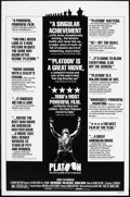 "Movie Posters:Academy Award Winners, Platoon (Orion, 1986). One Sheet (27"" X 41"") Review Style. AcademyAward Winners.. ..."
