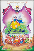 "Movie Posters:Animation, Snow White and the Seven Dwarfs (Buena Vista, R-1993). One Sheet (27"" X 40"") DS. Animation.. ..."