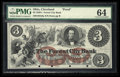 Obsoletes By State:Ohio, Cleveland, OH- The Forest City Bank $3 G8a Wolka 0732-07 Proof. ...