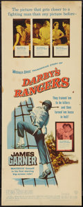 "Movie Posters:War, Darby's Rangers (Warner Brothers, 1958). Insert (14"" X 36""). War....."