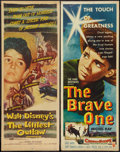 """Movie Posters:Drama, The Littlest Outlaw & Other Lot (Buena Vista, 1955). Inserts (2) (14"""" X 36""""). Drama.. ... (Total: 2 Items)"""