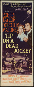"""Movie Posters:Crime, Tip on a Dead Jockey (MGM, 1957). Insert (14"""" X 36""""). Crime.. ..."""