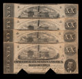 Confederate Notes:1862 Issues, T51 $20 1862. Four Examples.. ... (Total: 4 notes)