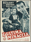 "Movie Posters:Drama, Deadline, U.S.A. (20th Century Fox, 1952). Italian Photobustas (3)(19.5"" X 26.5""). Drama. Starring Humphrey Bogart, Ethel B...(Total: 3 Item)"