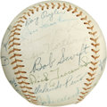 Autographs:Baseballs, 1966 Detroit Tigers Team Signed Baseball. With the exception ofclubhouse signatures from Norm Cash and Willie Horton, the ...