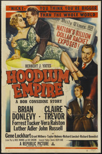 "Hoodlum Empire (Republic, 1952). One Sheet (27"" X 41""). Film Noir. Starring Brian Donlevy, Claire Trevor, Forr..."