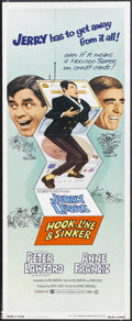 """Movie Posters:Comedy, Hook, Line & Sinker (Columbia, 1969). Insert (14"""" X 36"""").Comedy. Starring Jerry Lewis, Peter Lawford, Anne Francis andPedr..."""