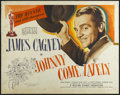 """Movie Posters:Drama, Johnny Come Lately (United Artists, 1943). Half Sheet (22"""" X 28"""").Drama. Starring James Cagney, Grace George, Marjorie Main..."""