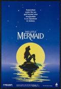 "Movie Posters:Animated, The Little Mermaid (Buena Vista, 1989). Mini (17.5"" X 26""). Animated Musical. Starring the voices of Jodi Benson, Pat Carrol..."