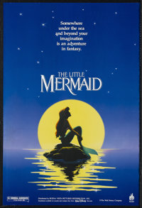 "The Little Mermaid (Buena Vista, 1989). Mini (17.5"" X 26""). Animated Musical. Starring the voices of Jodi Bens..."