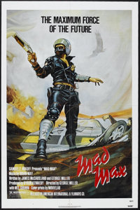 "Mad Max (Roadshow Film Distributors, 1979). One Sheet (27"" X 41""). Sci-Fi Action. Starring Mel Gibson, Joanne..."
