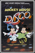 "Movie Posters:Animated, Mickey Mouse Disco (Buena Vista, 1980). One Sheet (27"" X 41"").Animated Musical. Directed by Norman Ferguson, David Hand, Ja..."