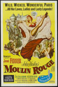 "Movie Posters:Drama, Moulin Rouge (United Artists, 1952). One Sheet (27"" X 41""). Drama.Starring José Ferrer, Zsa Zsa Gabor, Suzanne Flon and Cla..."