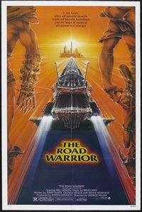 """The Road Warrior (Warner Brothers, 1982). One Sheet (27"""" X 41"""") Style A. Action. Starring Mel Gibson, Bruce Sp..."""