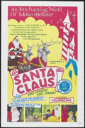 "Movie Posters:Children's, Santa Claus (K. Gordon Murray Productions Inc., R-1974). One Sheet (27"" X 41""). Family Fantasy. Starring Jose Elias Moreno, ..."