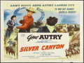 "Movie Posters:Western, Silver Canyon (Columbia, 1951). Half Sheet (22"" X 28""). Western.Starring Gene Autry, Champion, Gail Davis, Jim Davis, Bob S..."