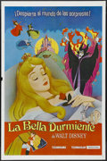 "Movie Posters:Animated, Sleeping Beauty (Buena Vista, R-1970s). Spanish Language One Sheet(27"" X 41""). Animated Fantasy. Starring the voices of Mar..."