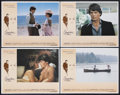 "Movie Posters:Fantasy, Somewhere in Time (Universal, 1980). Lobby Card Set of 4 (11"" X14""). Romantic Fantasy. Starring Christopher Reeve, Jane Sey...(Total: 4 Item)"