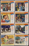 """Movie Posters:Fantasy, Son of Ali Baba (Universal, 1952). Lobby Card Set of 8 (11"""" X 14""""). Fantasy Adventure. Starring Tony Curtis, Piper Laurie, S... (Total: 8 Item)"""