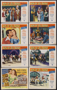 "Son of Ali Baba (Universal, 1952). Lobby Card Set of 8 (11"" X 14""). Fantasy Adventure. Starring Tony Curtis, P..."