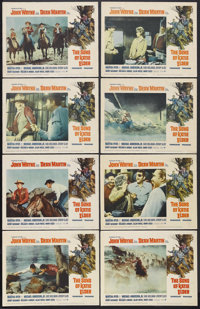 "The Sons of Katie Elder (Paramount, 1965). Lobby Card Set of 8 (11"" X 14""). Western. Starring John Wayne, Dean..."