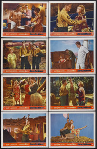 "South Sea Woman (Warner Brothers, 1953). Lobby Card Set of 8 (11"" X 14""). Comedy. Starring Burt Lancaster, Vir..."