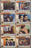"Movie Posters:Action, Spawn of the North (Paramount, 1938). Lobby Card Set of 8 (11"" X14""). Action. Starring George Raft, Henry Fonda, Dorothy La...(Total: 8 Item)"