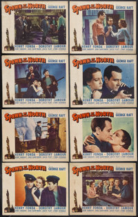 "Spawn of the North (Paramount, 1938). Lobby Card Set of 8 (11"" X 14""). Action. Starring George Raft, Henry Fon..."