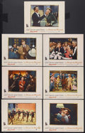 """Movie Posters:Musical, A Star is Born (Warner Brothers, 1954). Lobby Cards (7) (11"""" X 14""""). Musical Drama. Starring Judy Garland, James Mason, Jack... (Total: 7 Item)"""