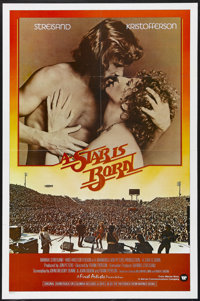"A Star is Born (Warner Brothers, 1976). One Sheet (27"" X 41""). Musical. Starring Barbra Streisand, Kris Kristo..."