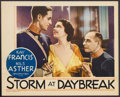 "Movie Posters:War, Storm at Daybreak (MGM, 1933). Lobby Card (11"" X 14""). Romance. Starring Kay Francis, Nils Asther, Walter Huston, Phillips H..."