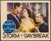 "Storm at Daybreak (MGM, 1933). Lobby Card (11"" X 14""). Romance. Starring Kay Francis, Nils Asther, Walter Hust..."
