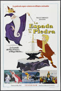 """Movie Posters:Action, The Sword in the Stone (Buena Vista, 1963). Spanish Language One Sheet (27"""" X 41""""). Animated Musical. Starring the voices of..."""