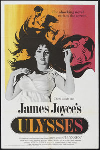 "Ulysses (Continental Distributing Inc., 1967). One Sheet (27"" X 41""). Drama. Starring Milo O'Shea, Barbara Jef..."