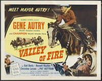 """Valley of Fire (Columbia, 1951). Half Sheet (22"""" X 28""""). Western"""