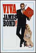 "Movie Posters:Action, Viva James Bond (United Artists, R-1970). International Stock OneSheet (27"" X 41""). ""Viva"" was a re-release campaign in the..."