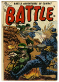 Golden Age (1938-1955):War, Battle #23 and 62 Group (Marvel, 1953-59) Condition: GD/VG. Approximate Overstreet value for group = $25.... (Total: 2 Comic Books)