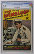 Golden Age (1938-1955):War, Don Winslow of the Navy #68 Crowley Copy pedigree (Fawcett, 1951)CGC NM 9.4 Off-white pages. Photo cover. Back cover phot p...