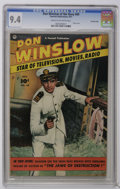 Golden Age (1938-1955):War, Don Winslow of the Navy #69 Crowley Copy pedigree (Fawcett, 1951)CGC NM 9.4 Cream to off-white pages. Photo cover. Back cov...