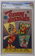 Golden Age (1938-1955):Funny Animal, Fawcett's Funny Animals #62 Crowley Copy pedigree (Fawcett, 1949)CGC NM- 9.2 Cream to off-white pages. Funny animal stories...